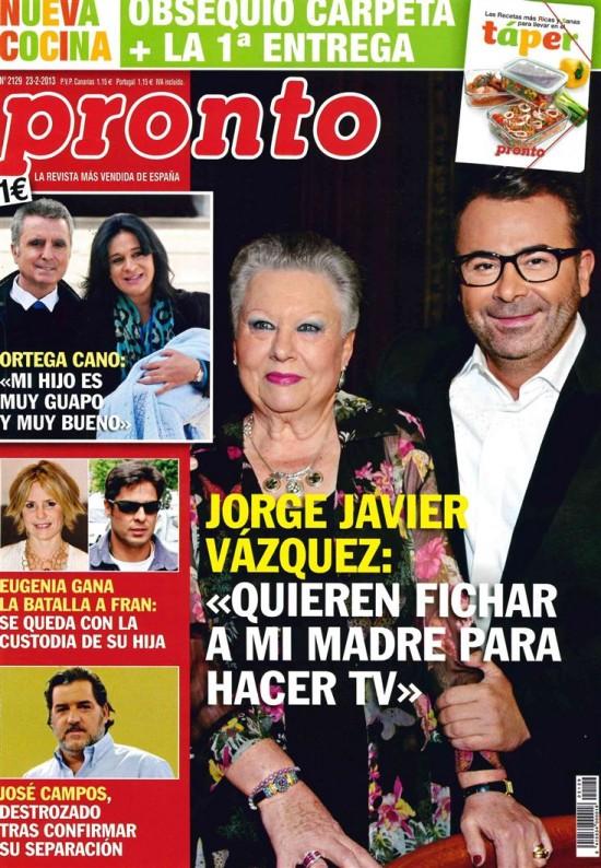PRONTO portada 18 de febrero 2013