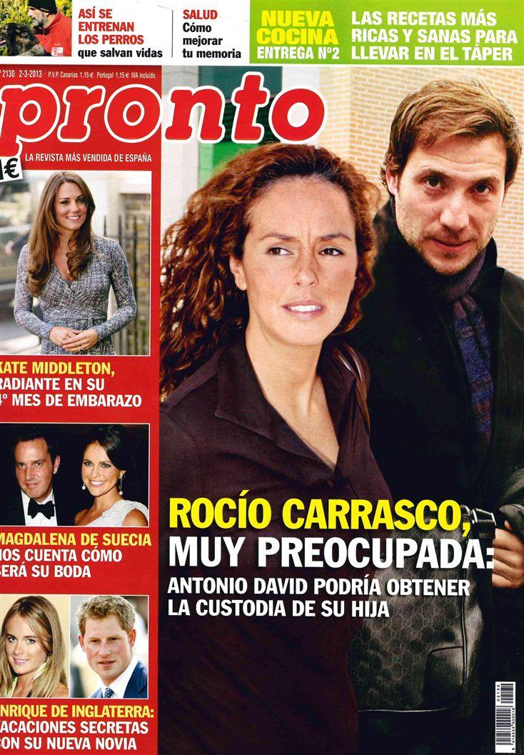 PRONTO portada 25 de febrero 2013