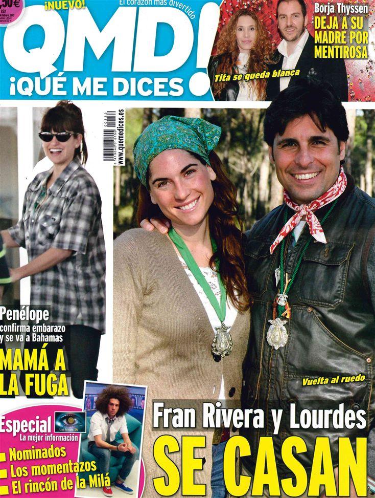 QUE ME DICES portada 18 de febrero 2013
