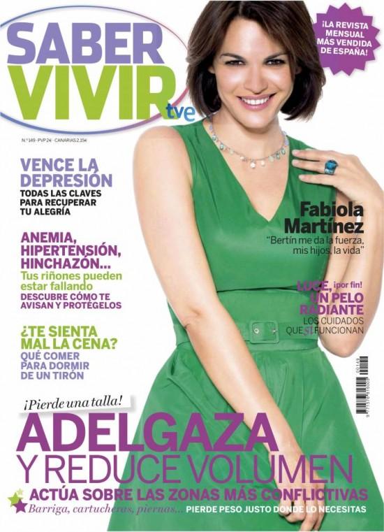 SABER VIVIR portada marzo de 2013