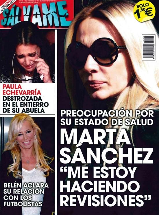 SALVAME portada 11 de febrero 2013
