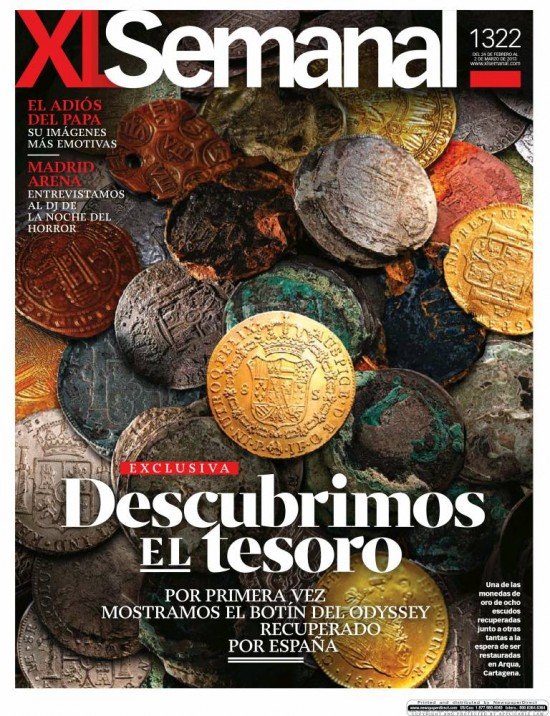 XL SEMANAL portada 24 de febrero 2013