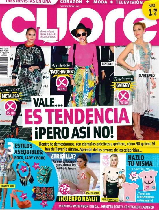 CUORE portada 20 de marzo 2013