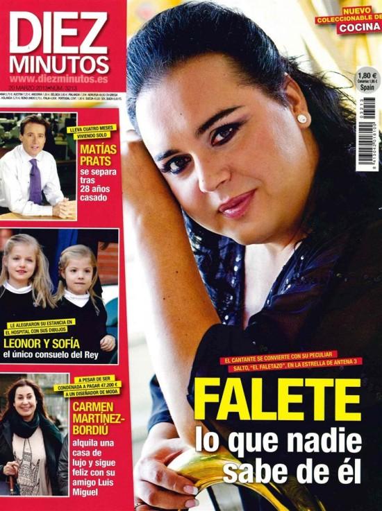 DIEZ MINUTOS portada 13 de marzo 2013