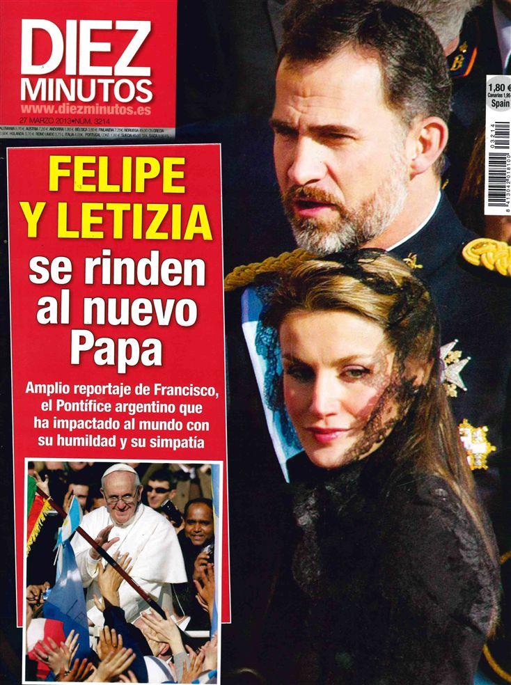 DIEZ MINUTOS portada 20 de marzo 2013