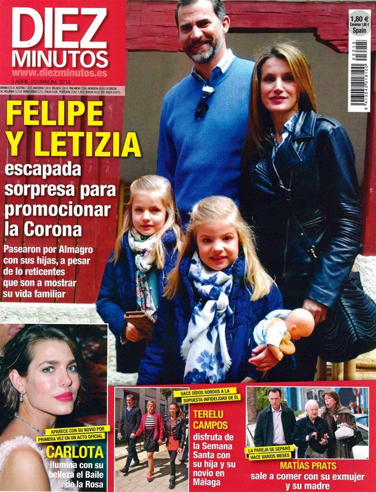 DIEZ MINUTOS portada 27 de marzo 2013