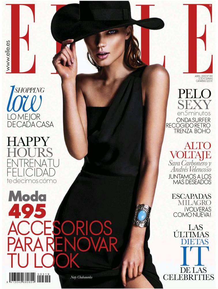 ELLE portada abril de 2013