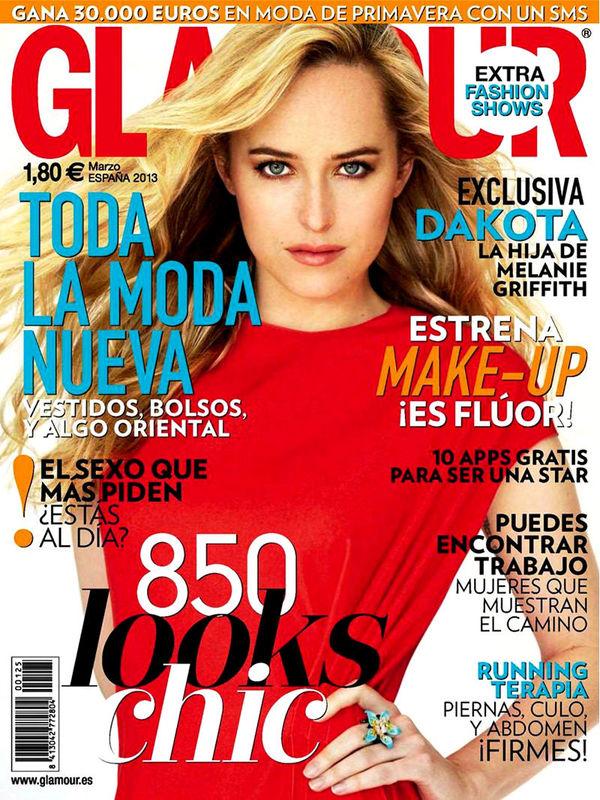 GLAMOUR portada marzo de 2013