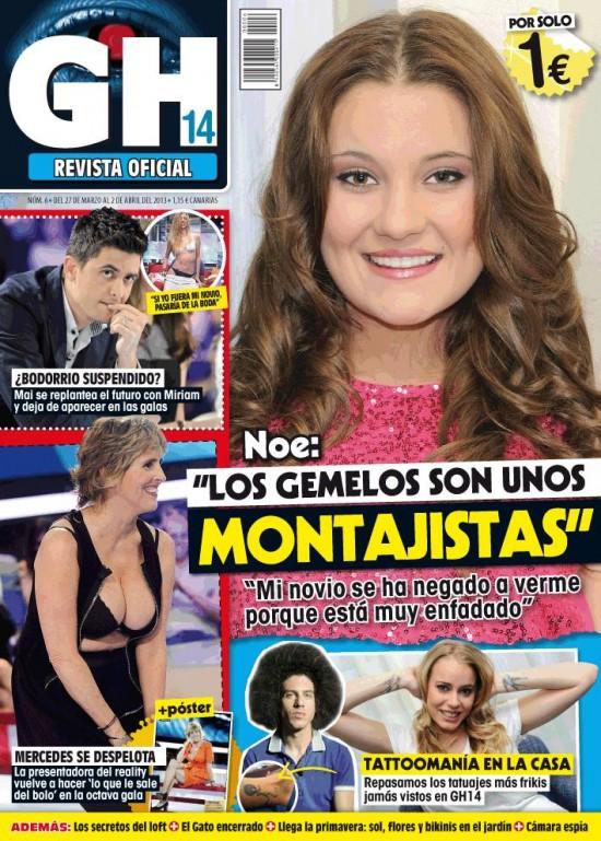 GRAN HERMANO portada 27 de marzo 2013