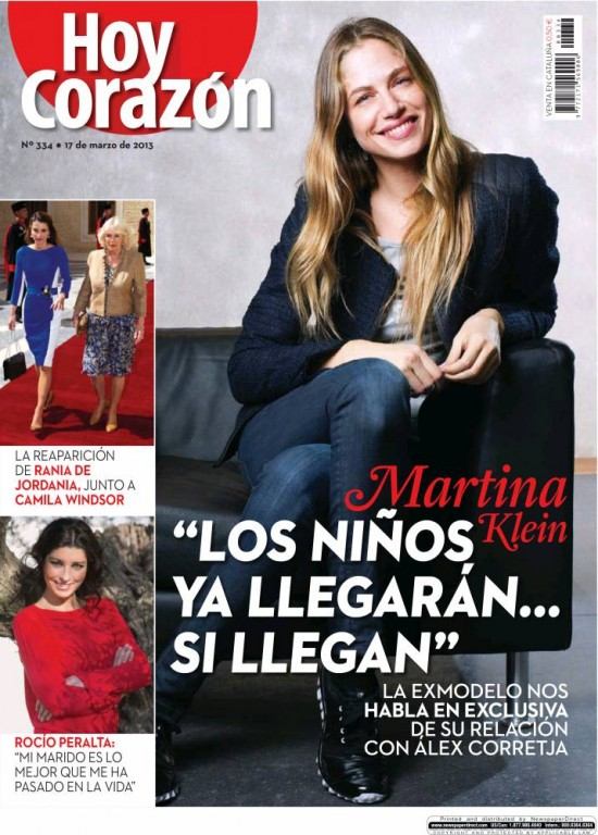 HOY CORAZON portada 18 de marzo 2013