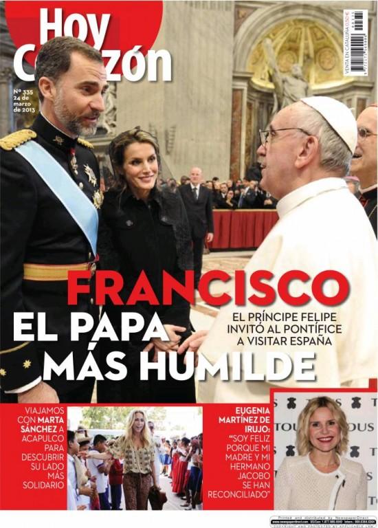 HOY CORAZON portada 25 de marzo 2013