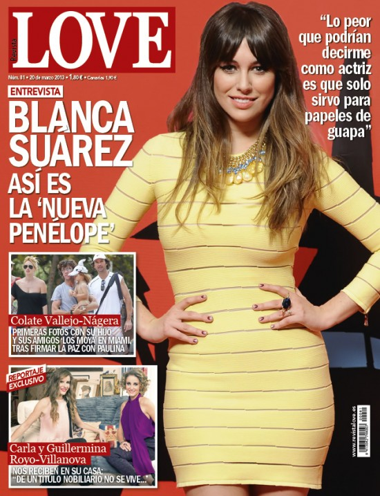 LOVE portada 12 de marzo 2013