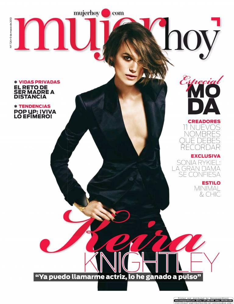 MUJER HOY portada 10 de marzo 2013