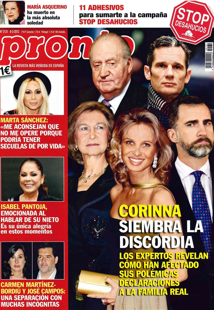 PRONTO portada 04 de marzo 2013