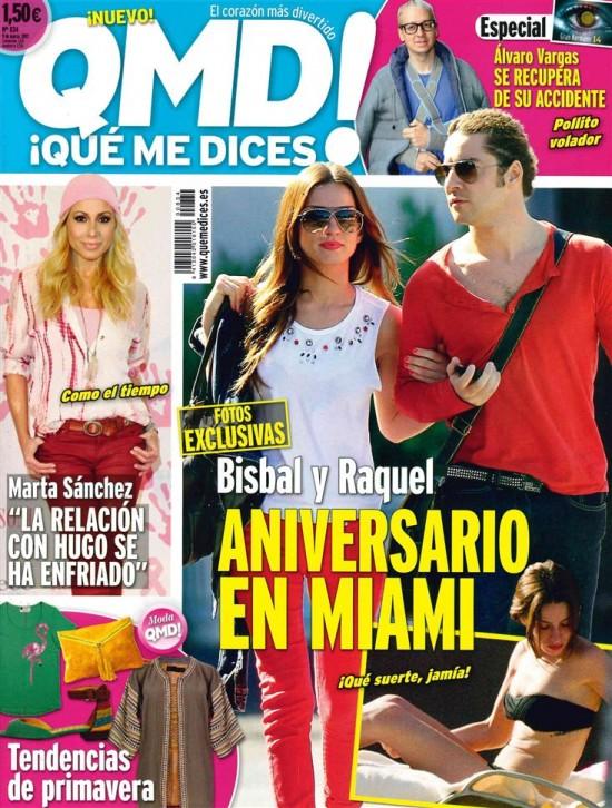 QUE ME DICES portada 04 de marzo 2013