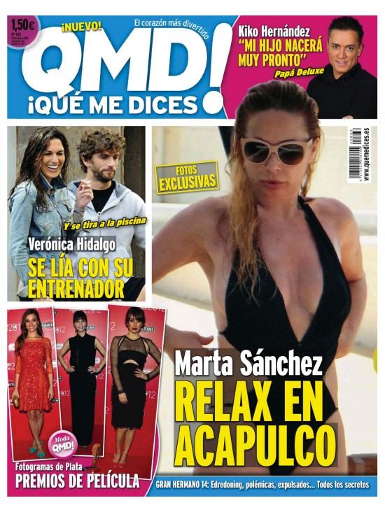 QUE ME DICES portada 18 de marzo 2013