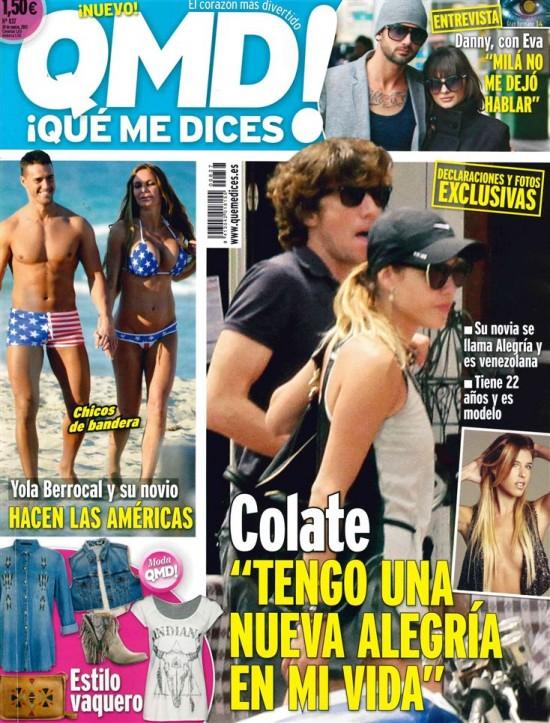 QUE ME DICES portada 25 de marzo 2013