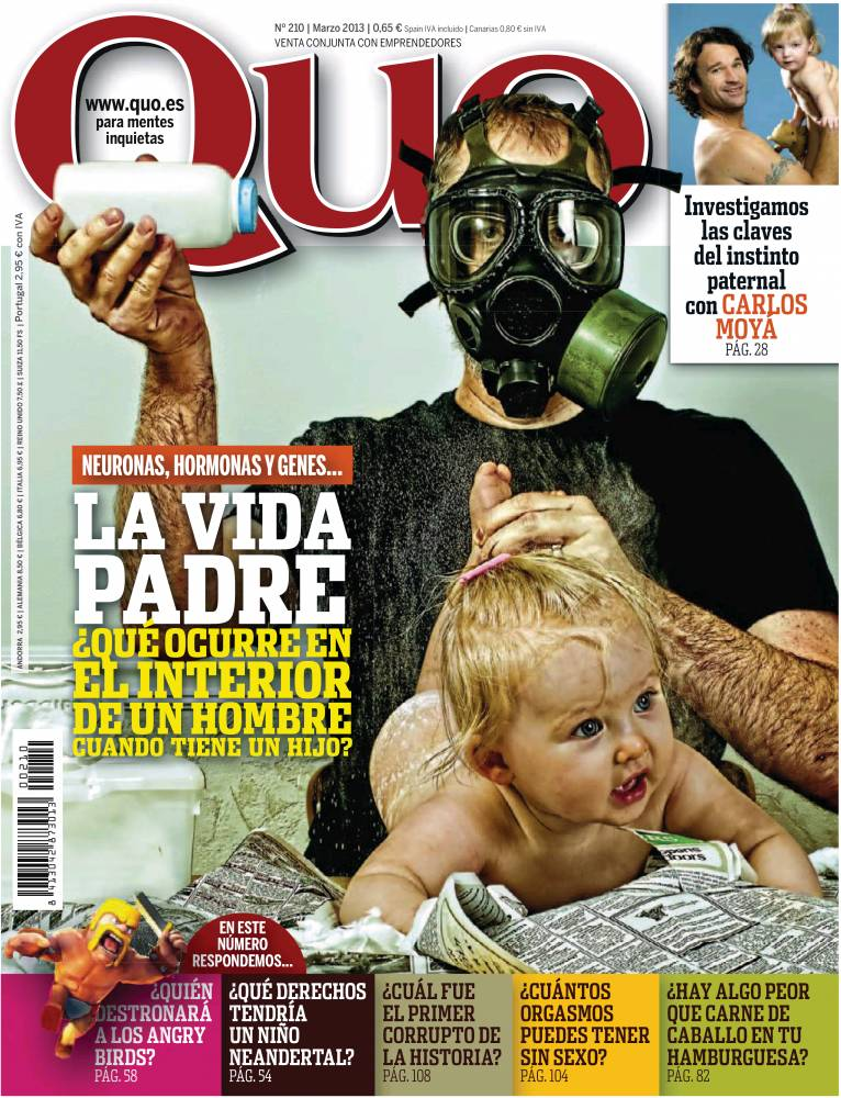 QUO portada marzo de 2013
