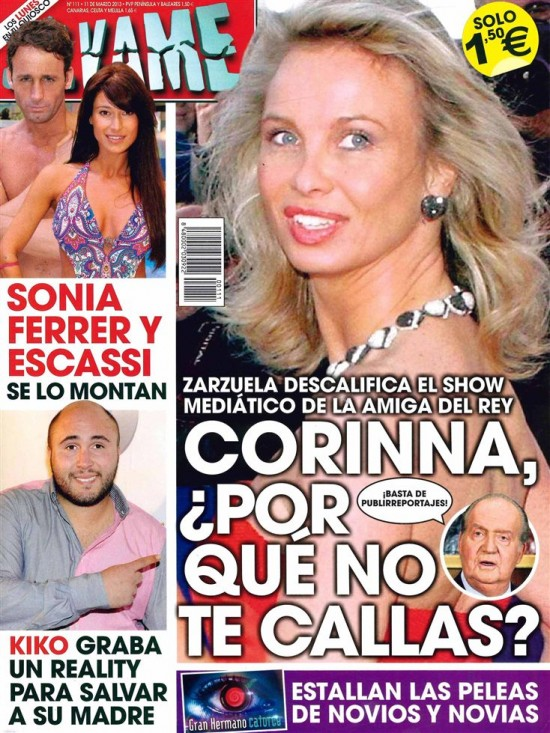 SALVAME portada 04 de marzo 2013