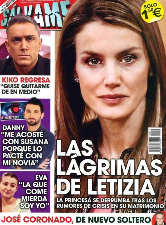 SALVAME portada 11 de marzo 2013