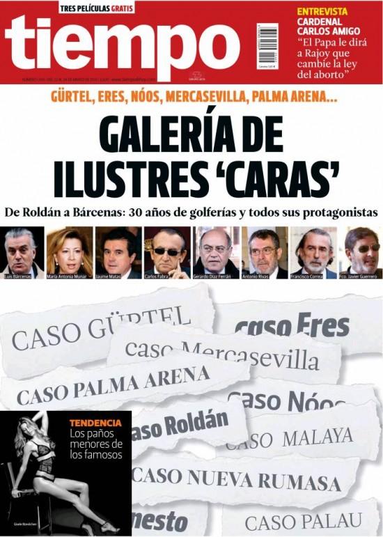 TIEMPO portada 24 de marzo 2013