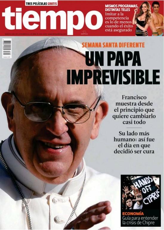 TIEMPO portada 31 de marzo 2013