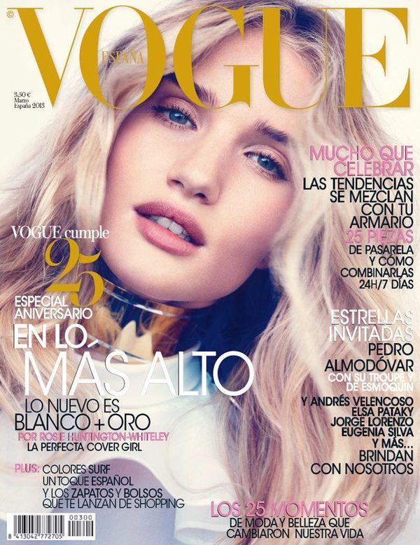 VOGUE portada marzo de 2013