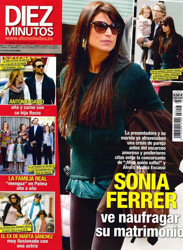 DIEZ MINUTOS portada 3 de Abril 2013