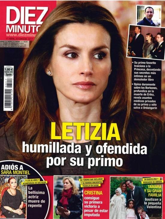DIEZ MINUTOS portada 10 de Abril 2013
