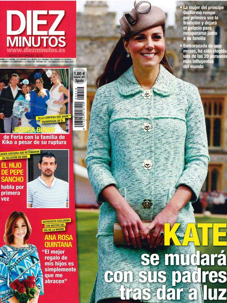 DIEZ MINUTOS portada 24 de Abril 2013