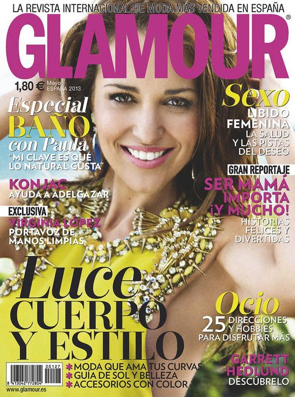 GLAMOUR portada Mayo 2013