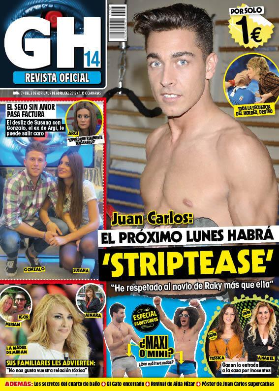 GRAN HERMANO portada 03 de Abril 2013
