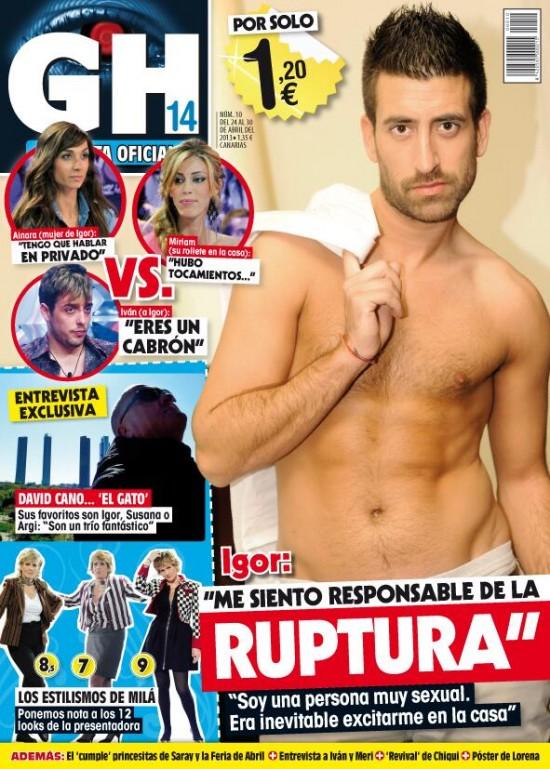 GRAN HERMANO portada 24 de Abril 2013