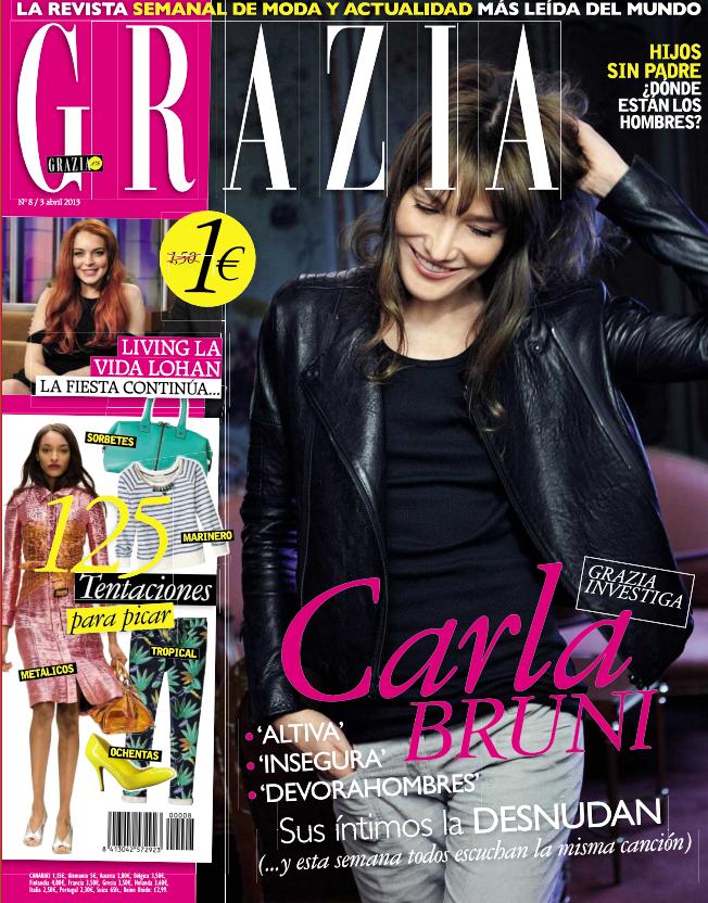 GRAZIA portada 04 de Abril 2013