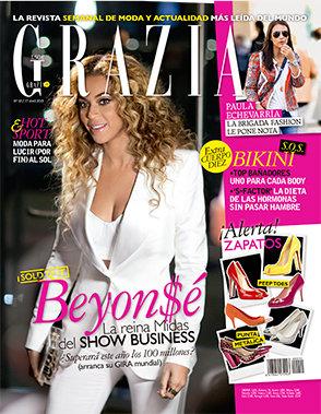 GRAZIA portada 17 DE Abril 2013