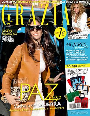 GRAZIA portada 24 de Abril 2013