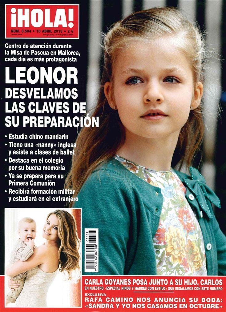 HOLA portada 03 de Abril 2013