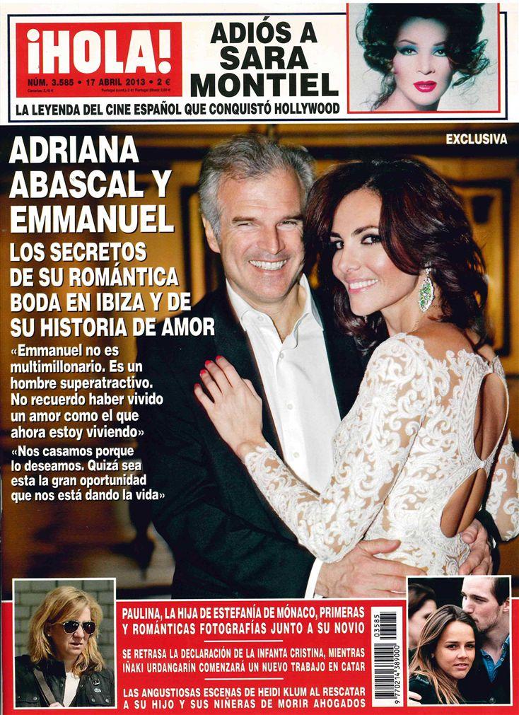 HOLA portada 10 de Abril 2013