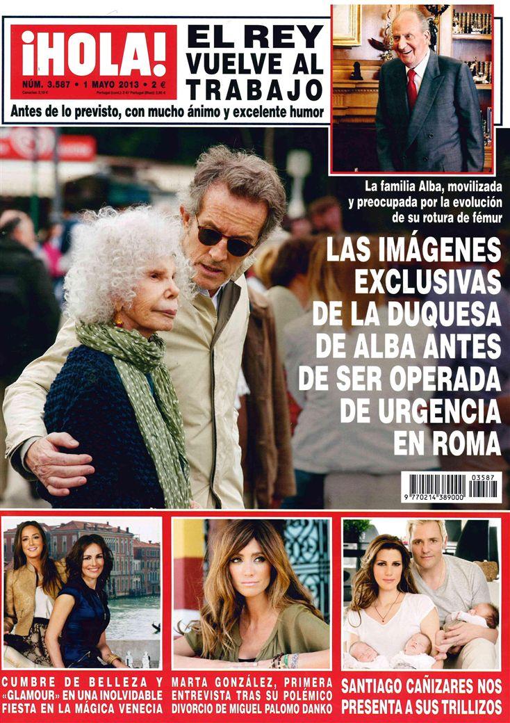 HOLA portada 24 de Abril 2013