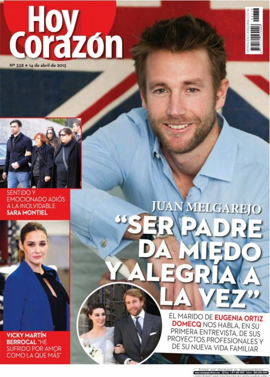 HOY CORAZON portada 15 de Abril 2013