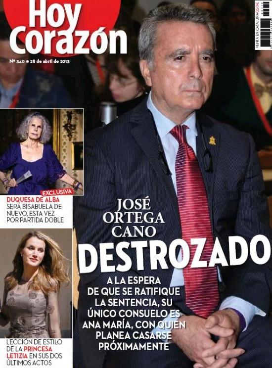 HOY CORAZON portada 29 de Abril 2013