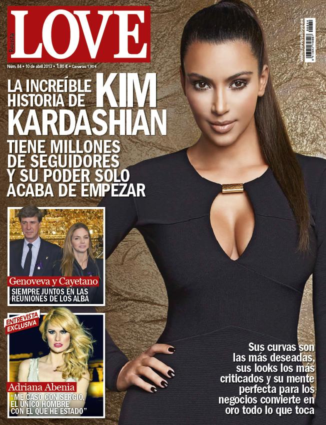 LOVE portada 03 de Abril 2013