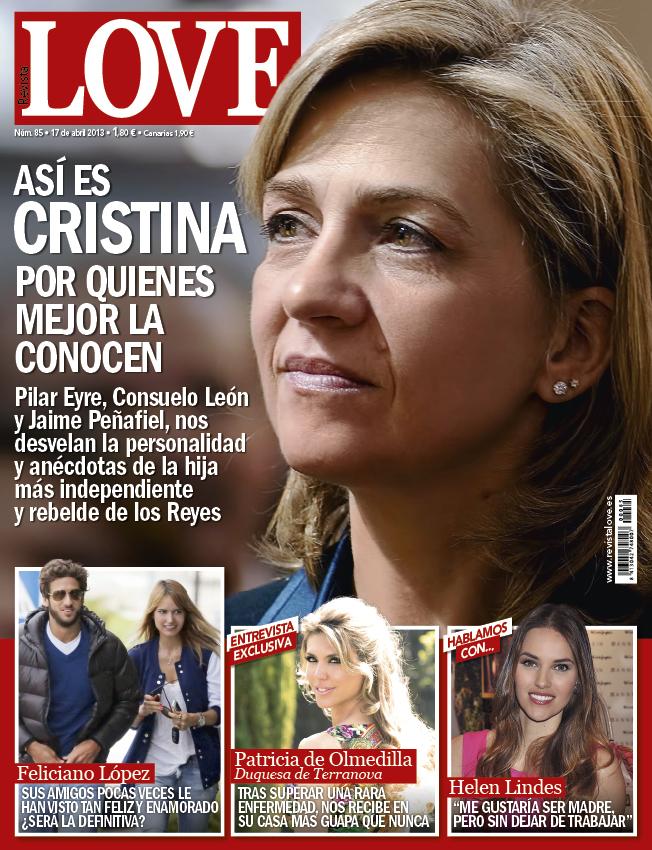 LOVE portada 10 de Abril 2013