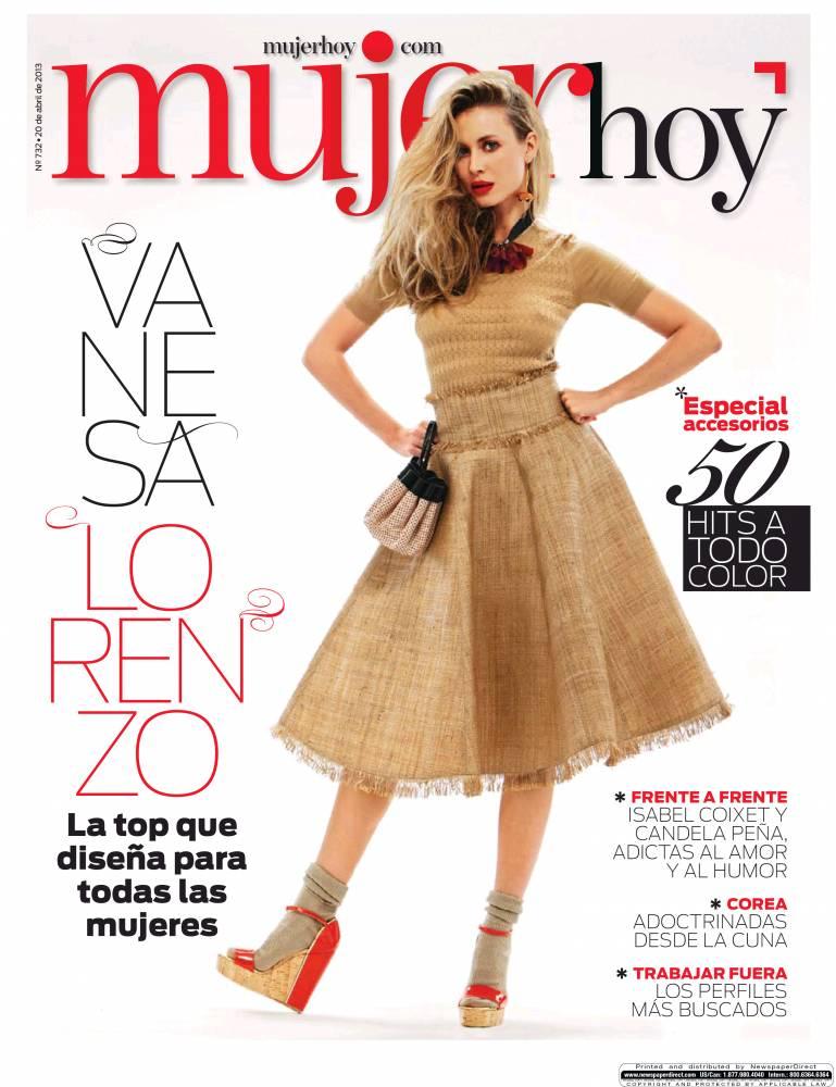 MUJER HOY portada 21 de Abril 2013