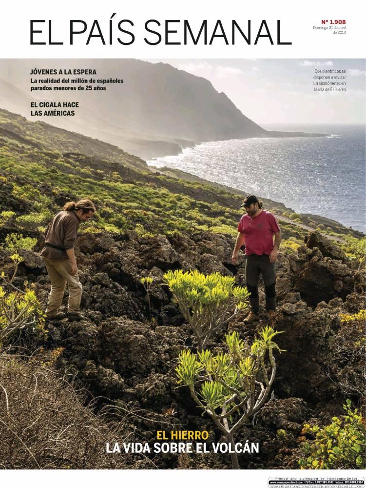 PAIS SEMANAL portada 21 de Abril 2013