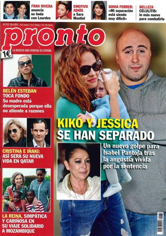 PRONTO portada 15 de Abril de 2013