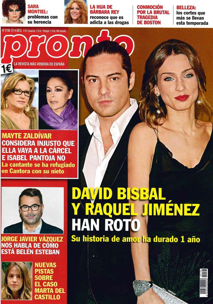 PRONTO portada 22 de Abril 2013