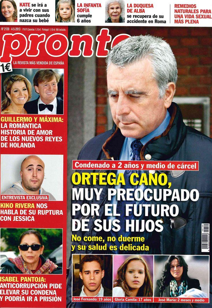 PRONTO portada 29 de Abril 2013