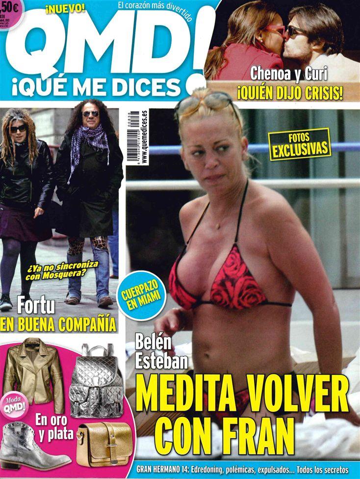 QUE ME DICES portada 01 de Abril 2013
