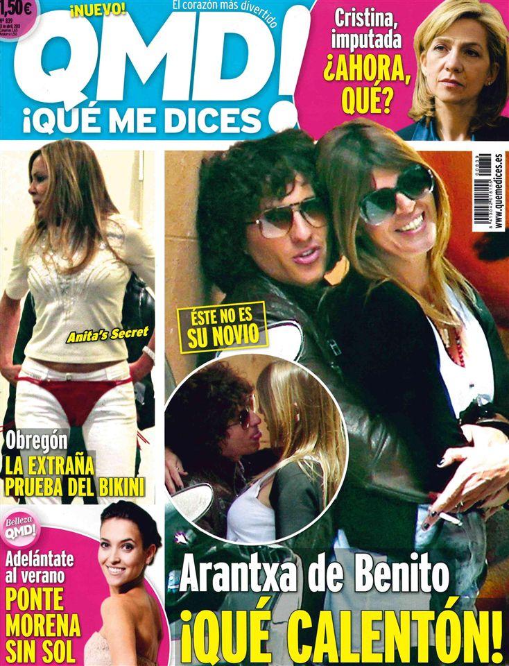 QUE ME DICES portada 08 de Abril 2013